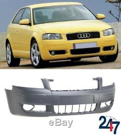 Nouveau Audi A3 2003 2005 3 Portes Excellent Pare Choc avant sans Feu Washer