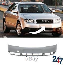 Nouveau Audi A4 B6 2000 2005 Pare Choc avant sans Pdc et Rondelle Trous