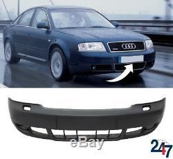 Nouveau Audi A6 C5 2002 2005 Pare Choc avant avec Lave Phare Trous 4b0807103bl