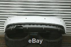 Original Audi A1 S-LINE 2015 2016 2017 Pare-Chocs Arrière Blanc & Réflecteur
