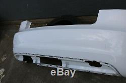 Original Audi A3 8P Pare-Chocs Arrière 3DR Blanc 8P3807511 Tout Cosses en Ordre
