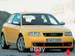 Original Audi S3 8L 97-03 Pare Choc avant Droit Feu Anti Brouillard Grille Paire
