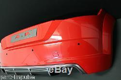 Original Audi TTS Tt 8 S Pare-Chocs Arrière de Spoiler Pdc 8s0807511
