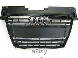 Original Audi Tt TTS Grille Calandre Noir / Mat 8j0853651h Vmz