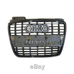 Original S4 Sport Grille Grill Grill Noir Pour Le Audi A4 S4 8E B7