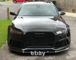 P-Performance Pare-Chocs avant Becquet / Séparateur pour Audi RS6 C7 4G