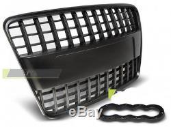 pare choc calandre grille avant audi q7 05 09 black s line style. Black Bedroom Furniture Sets. Home Design Ideas