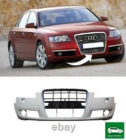 Pare Choc Avant Avec Lave Phare Trous Compatible Avec Audi A6 C6 2005 2008