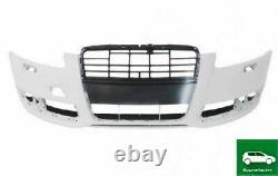 Pare Choc Avant Avec Lave Phare Trous Compatible Avec Audi A6 C6 Fl