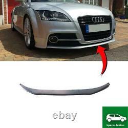 Pare Choc Avant Inférieur Spoiler Bague Excellent Compatible Avec Audi Tt MK2
