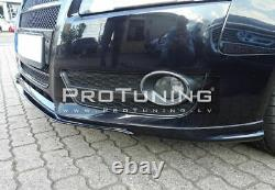 Pare Choc Avant Jupe /Séparateur/ Spoiler V Aspect pour Audi A5 8T 07-11 Coupé /