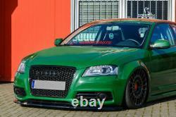 Pare Choc Avant Spoiler Jupe /Jupe pour Audi A3 S3 8P S-LINE 08-12