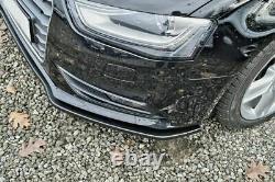 Pare Choc Avant Spoiler / Jupe /Jupe pour Audi A4 B8 Facelift 2012-2016