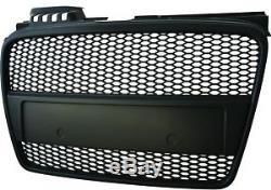 Pare Choc, Calandre, Grille Avant Audi A4 (b7) Rs-type 11.04-03.08 Noir Mat