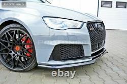 Pare Choc avant Performance ABS Jupe Inférieur Séparateur For Audi RS3 8VA Sport
