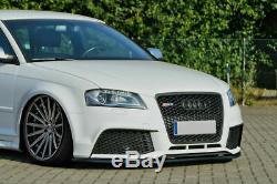 Pare Choc avant Spoiler / Jupe /Jupe pour Audi RS3 8PA 2011-2012