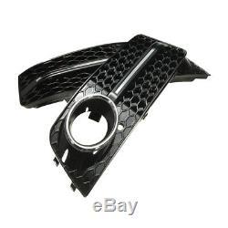 Pare-Chocs Noir Pour A4L B8 Audi Grille Accessoire De Voiture