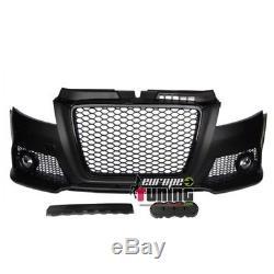 Pare Chocs Sport Look Rs3 Noir Audi A3 8p2 2008-2013 (04455)