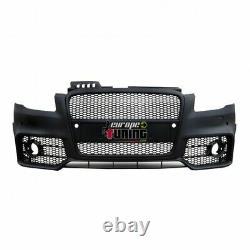 Pare Chocs Sport Look Rs4 Calandre Noire Audi A4 B7 (03126)