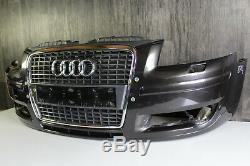 Pare-Chocs avant + Audi A3 8P 2005-2008 + Pare-Chocs Grille + Original 8P4807437