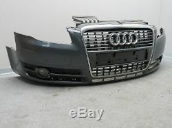 Pare-Chocs avant Audi A4 B7 Tablier avant Calandre LX7Z Gris Dauphin