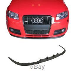 Pare-Chocs avant Becquet Tasse Spoiler Aileron Lèvre pour Audi A3 S3 8P
