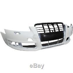 Pare-Chocs avant pour Audi A6 (4f2) Année Fab. 08/2008-03/2011 Apprêté