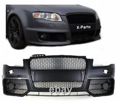 Pare-Chocs pour Audi A4 B7 8E avec Calandre Noir Pdc Tablier Avant RS4