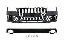 Pare-choc Avant Diffuseur Conseils d'échappement Pour Audi A7 4G 10-14 RS7 Lo
