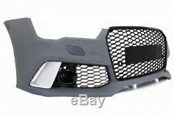 Pare-choc Avant Diffuseur Conseils d'échappement pour AUDI A7 4G 10-14 RS7 Look