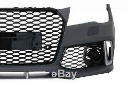 Pare-choc Diffuseur Conseils Échappement LED Feux Pour Audi A7 4G 10-14 RS7 Lo