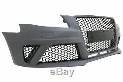 Pare-choc Diffuseur arrière Echappements Audi A4 B8 Pré-Facelift RS4 Look 08-1
