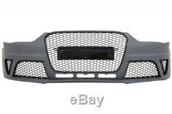 Pare-choc Diffuseur échappement Audi A4 B8 Facelift 12-15 RS4 Look Avant Sedan
