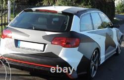 Pare choc arrière look RS6 C7 pour Audi A6 C6 pré-lifting