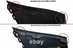 Pare-choc avant pour AUDI A3 8 V 2012-2015 Berline Convertible RS3 Noir brillant