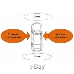 Pare-choc avant + radars + lave phare Audi A4 (8K/8E) 2007-2011