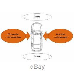 Pare-choc avant + radars + lave phare Audi A6 (Typ 4F2) 2008-2011