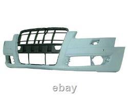 Pare-chocs Avant Audi A6 2004-2008 À Peindre A/lave Phare A/capteurs