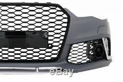 Pare-chocs Avant Pour Audi A6 C7 4G Facelift 2015-2018 RS6 Look Avec Calandre S