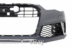 Pare-chocs Avant pour Audi A6 C7 4G 2011-2015 RS6 Look sans Grille Centrale