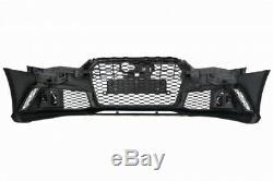 Pare-chocs Diffuseur d'air Embouts pour Audi A6 4G Facelift 15-18 RS6 Design