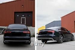 Pare-chocs Embout diffuseur Pour Audi A6 C7 4G Limousine Avant 10-14 RS6 Look