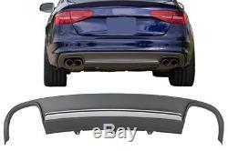 Pare-chocs arrière Diffuseur d'air Audi A4 B8 Facelift 12-15 Limo/Avant S4 Look