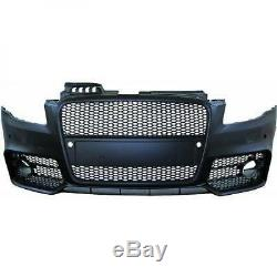 Pare chocs avant AUDI A4 RS4 look de 04 à 07