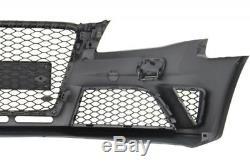 Pare-chocs avant Audi A4 B8 Pré-Facelift 2008-2011 RS4 Look Grilles latérales