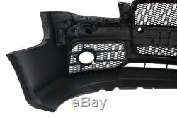 Pare-chocs avant avec grille avant Audi A4 B7 2004-2008 RS4 Design Noir