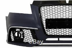 Pare-chocs avant pour AUDI A3 8P Facelift 09-12 Design Grille Radars factices