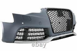Pare-chocs avant pour AUDI A5 8T Facelift 12-16 RS5 Look Nid d'abeille Grilles