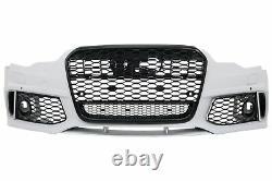 Pare-chocs avant pour AUDI A6 C7 4G 11-15 Grilles latérales RS6 Design
