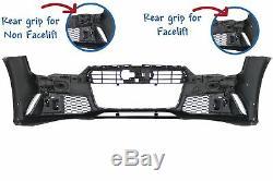 Pare-chocs avant pour AUDI A7 4G Facelift (2015-2018) RS7 Design Avec grille